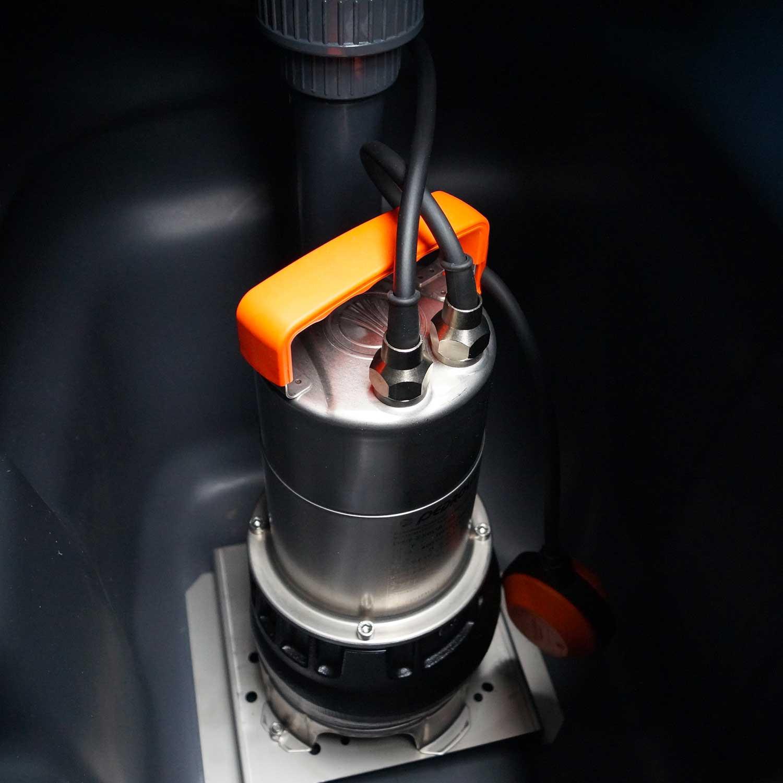 Station de relevage 100L - Pompe Inox 220V - Eaux usées