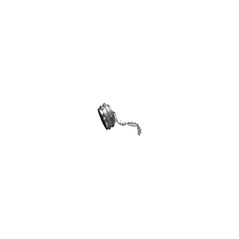 Bouchons Alu avec verrou DN25