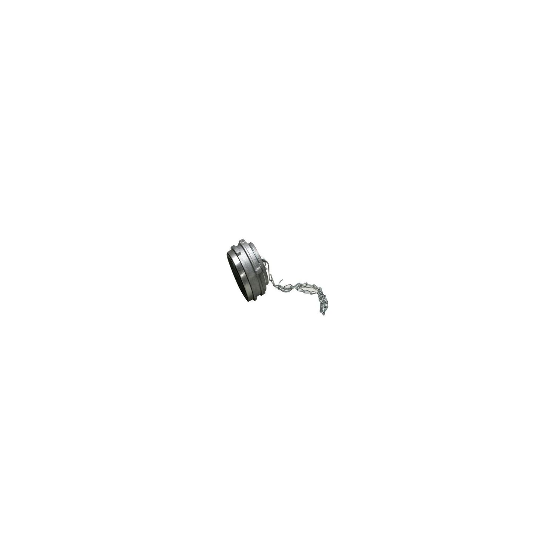 Bouchons Alu avec verrou DN50