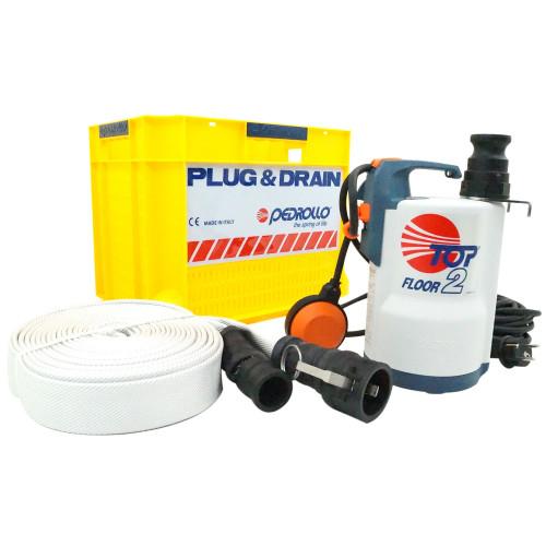 Kit D U0026 39 Urgence Plug U0026drain 140l  Min - Avec Flotteur