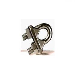 Serre câble à étrier Inox 3-4 mm