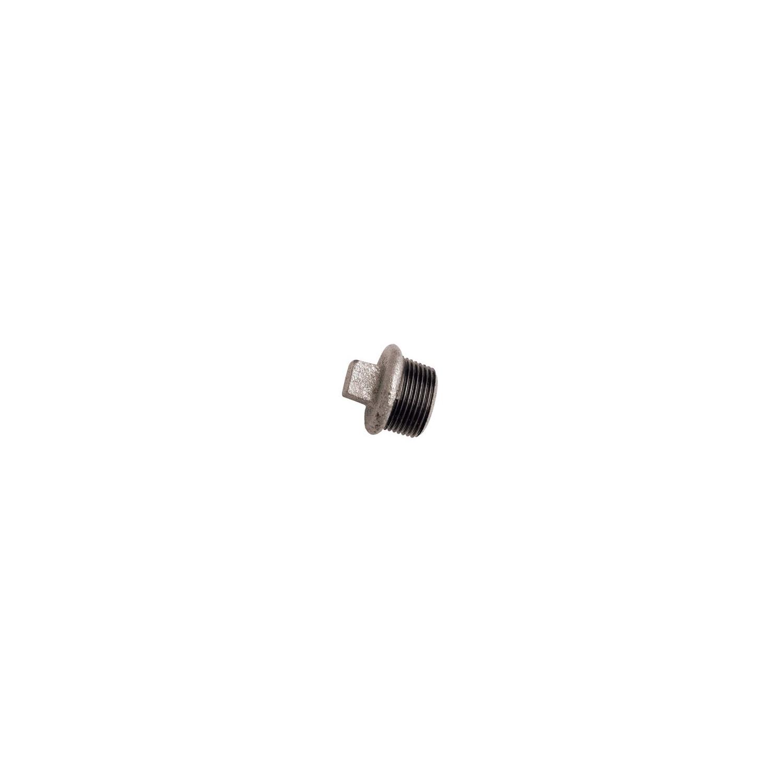 "BOUCHON GALVANISE MALE 1""1/4"