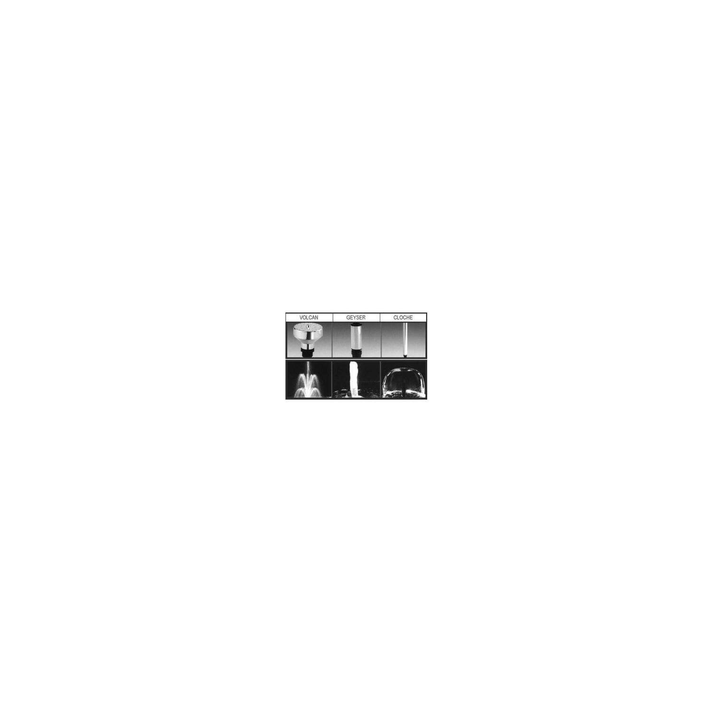 Buse pour pompe jet d'eau Geyser