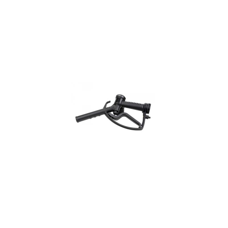 Pistolet gasoil manuel PP rotatif cannelée