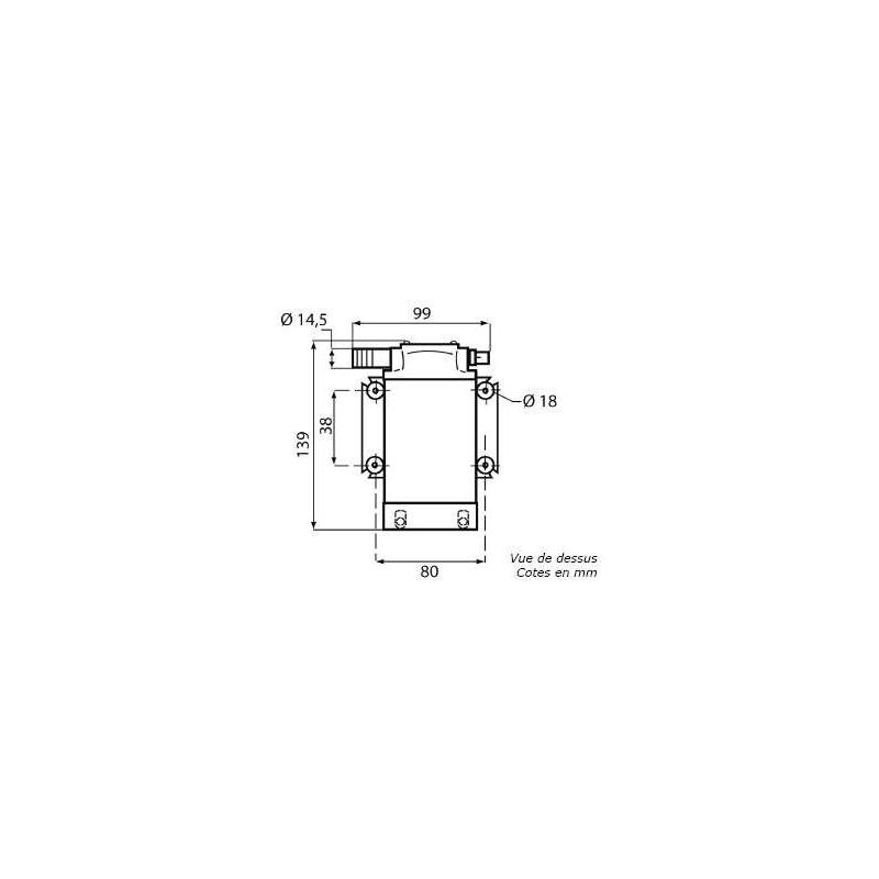 Pompe de transfert d'huile 12V