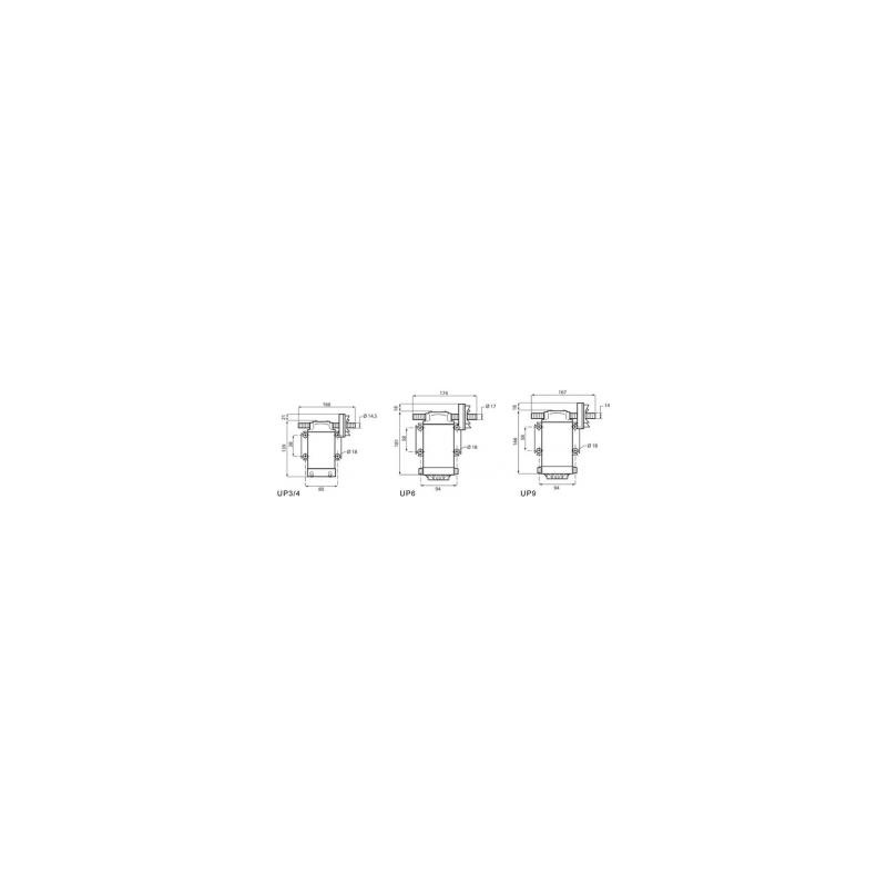 Pompe de transfert a engrenage 12V - 6A