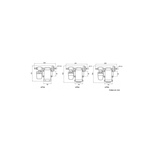Groupe de surpression 12V - 6A