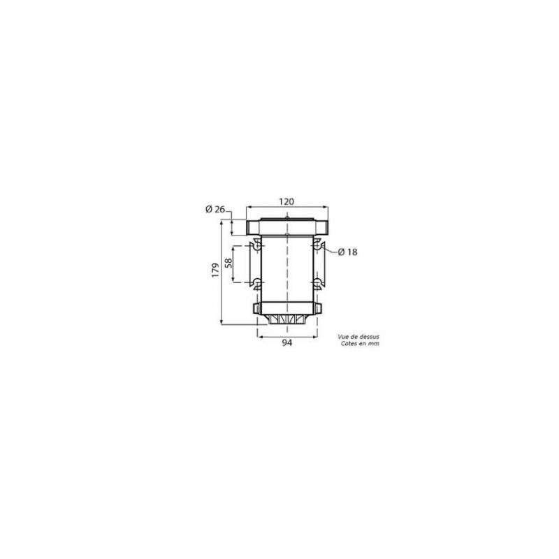 Pompe à rotor flexible 24V - 6A - 35l.min
