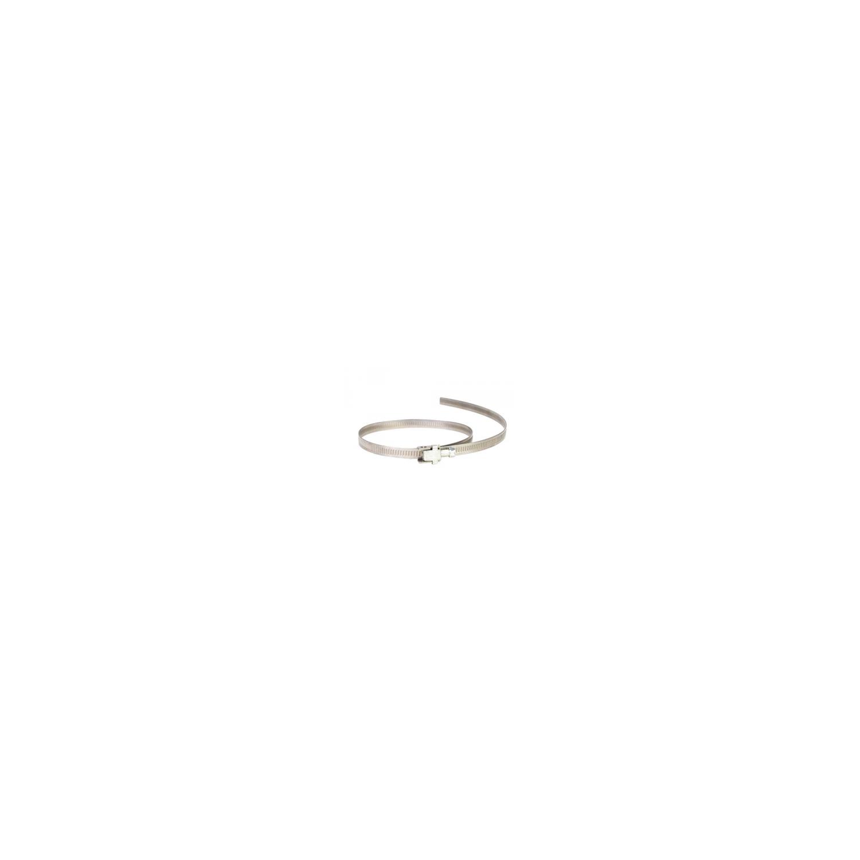 Collier de serrage à tête basculante, à bande pleine 9mm  Ø9700