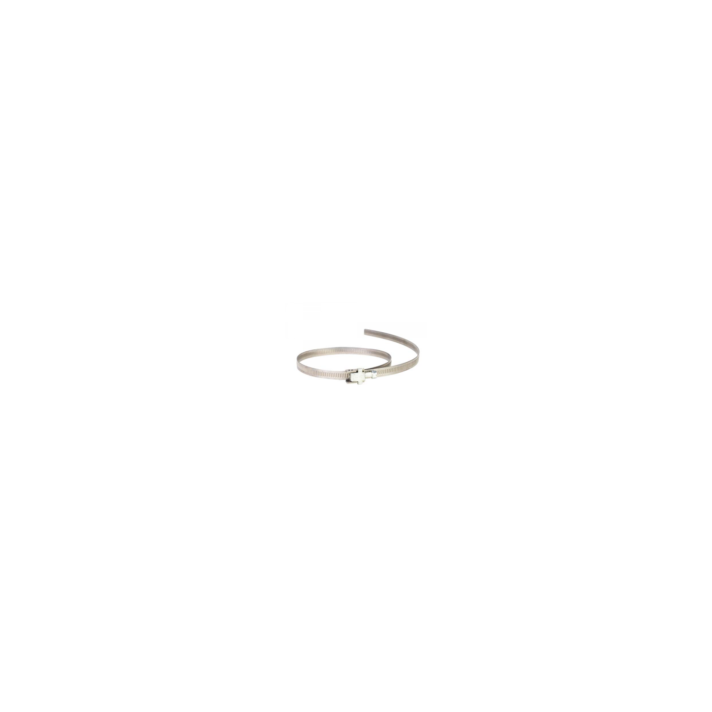 Collier de serrage à tête basculante, à bande pleine 9mm  Ø750