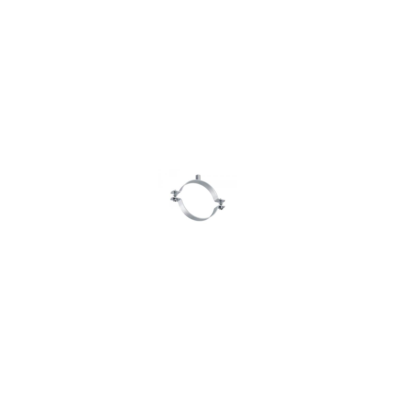Collier à vis avec rondelles imperdables - acier zingué Ø83