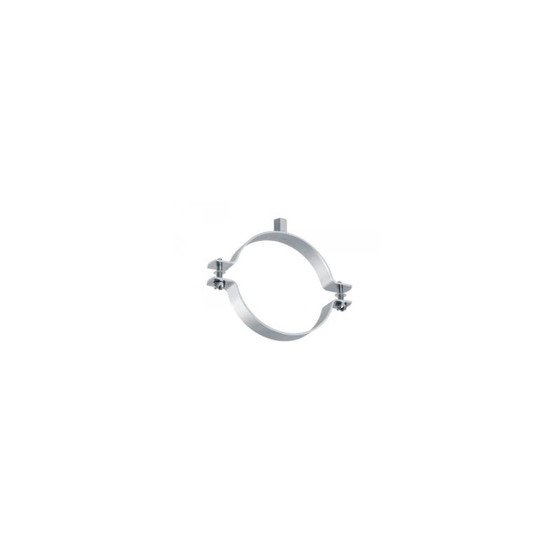 Collier à vis avec rondelles imperdables - acier zingué Ø133