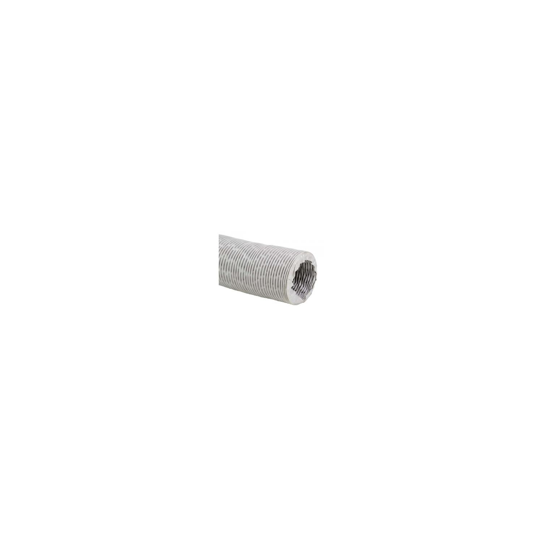Gaine de ventilation en tissu fibre de verre revêtue de PVC Ø160