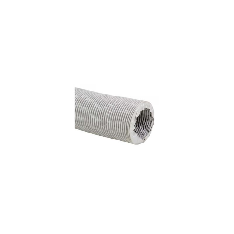 Gaine de ventilation en tissu fibre de verre revêtue de PVC Ø180
