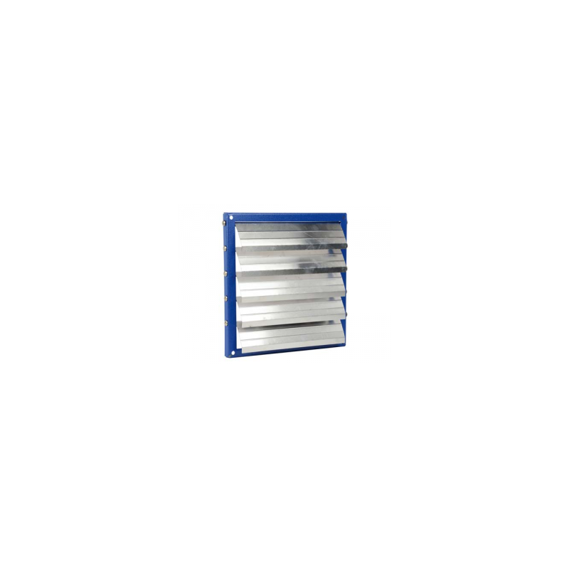 Volet automatique cadre acier, volet aluminium Ø25