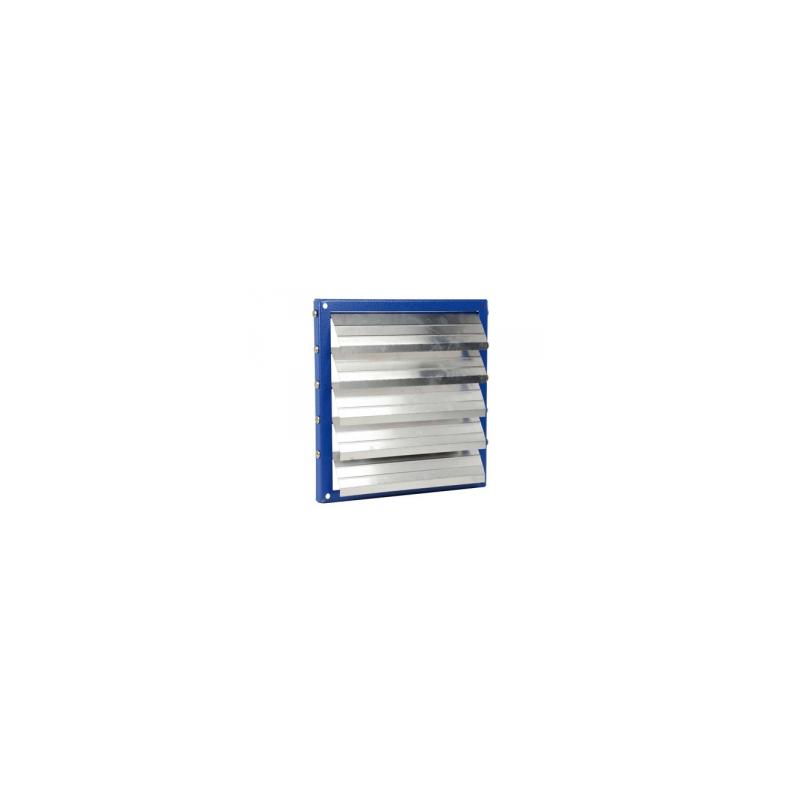 Volet automatique cadre acier, volet aluminium Ø90