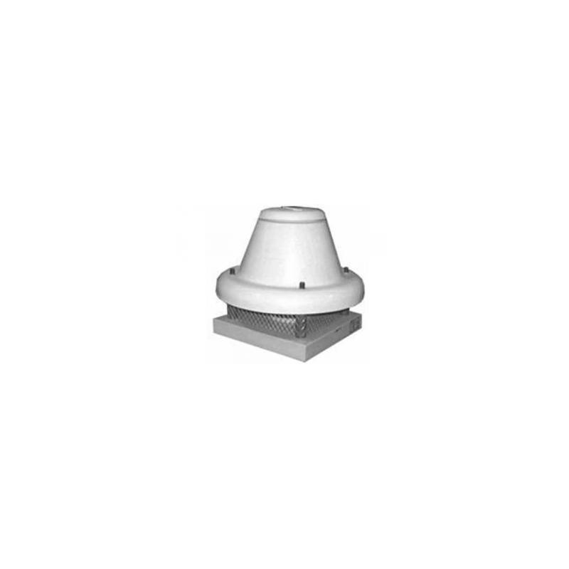 Tourelle toiture centrifuge à jet horizontal en polypropylène Ø354T