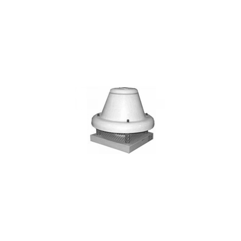 Tourelle toiture centrifuge à jet horizontal en polypropylène Ø404T