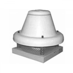 Tourelle toiture centrifuge à jet horizontal en polypropylène Ø356T