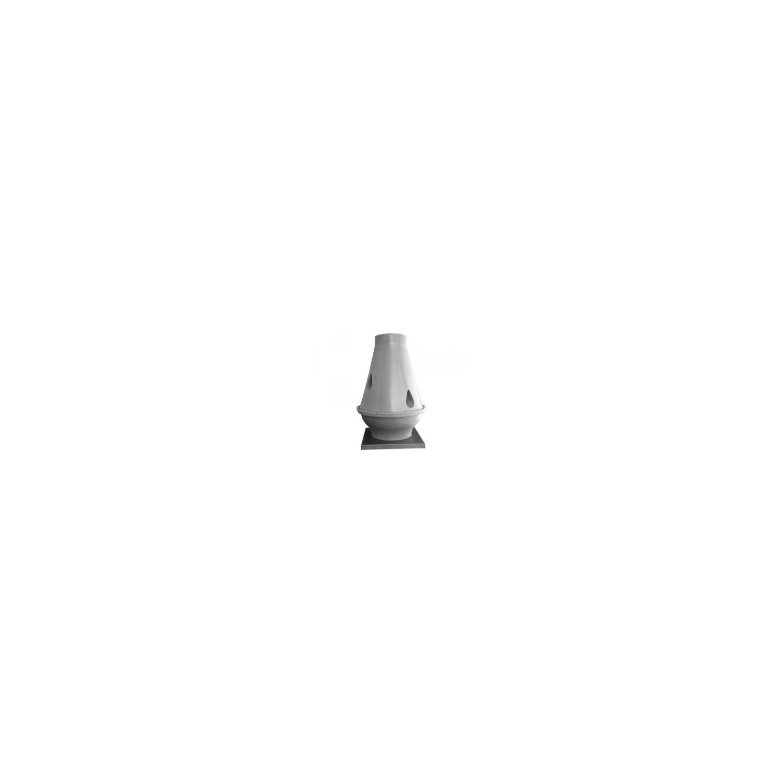 Tourelle toiture centrifuge à jet vertical en polypropylène Ø45T6