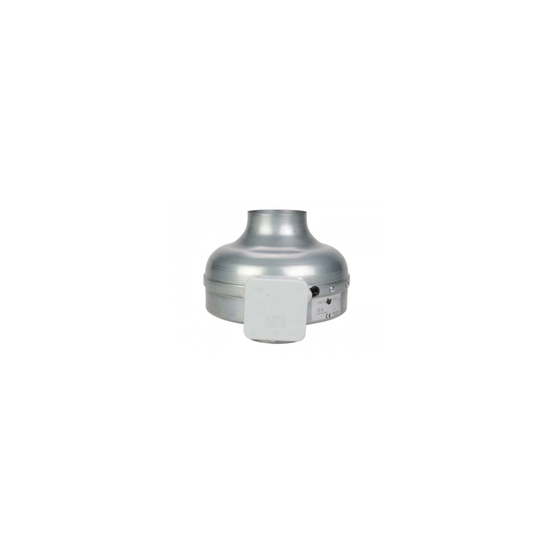 Ventilateur de gaine centrifuge Ø100