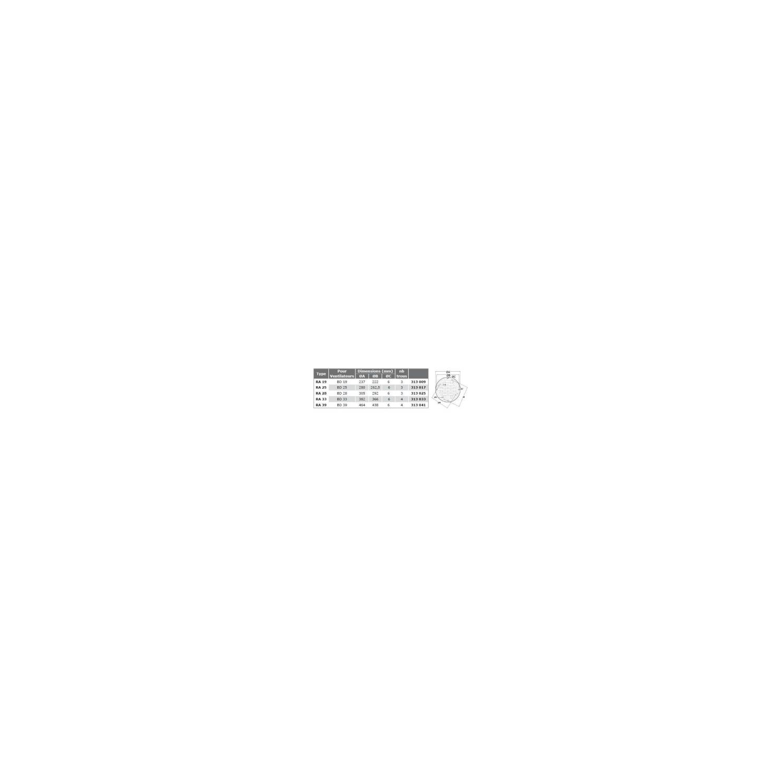 Grille de protection aspiration RA Ø28