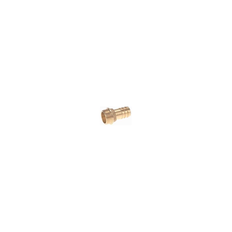 Raccord laiton cannelé embout mâle 1'', cannelure Ø25
