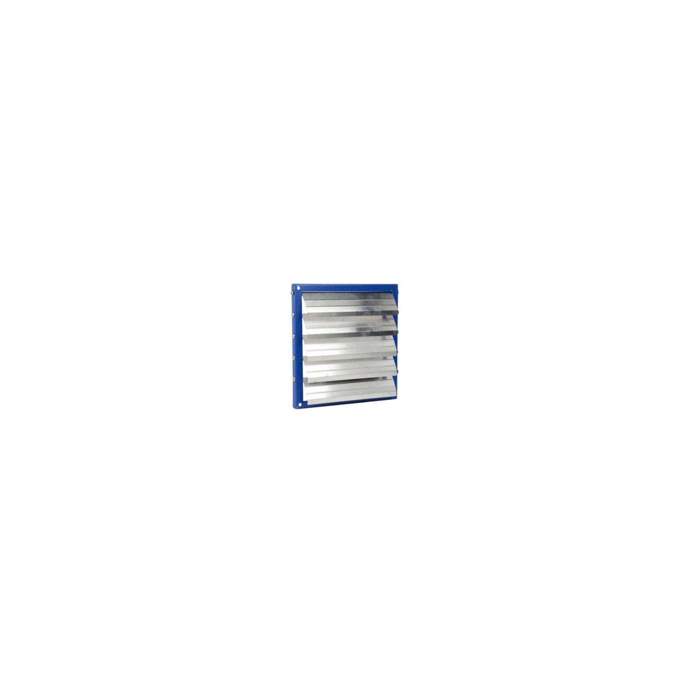 Volet automatique cadre acier, volet aluminium Ø100