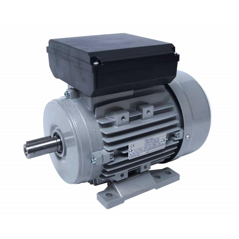 Moteur electrique 220v monophasé 0.75kW, 1000 tr/min, B3
