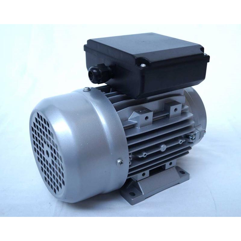 Moteur electrique 220v monophasé 0.37kW, 1500 tr/min, B14