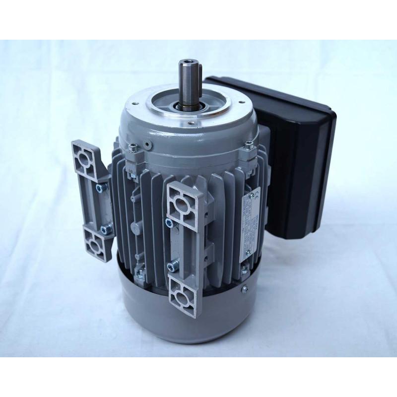 Moteur electrique 220v monophasé 0.55kW, 1500 tr/min, B14