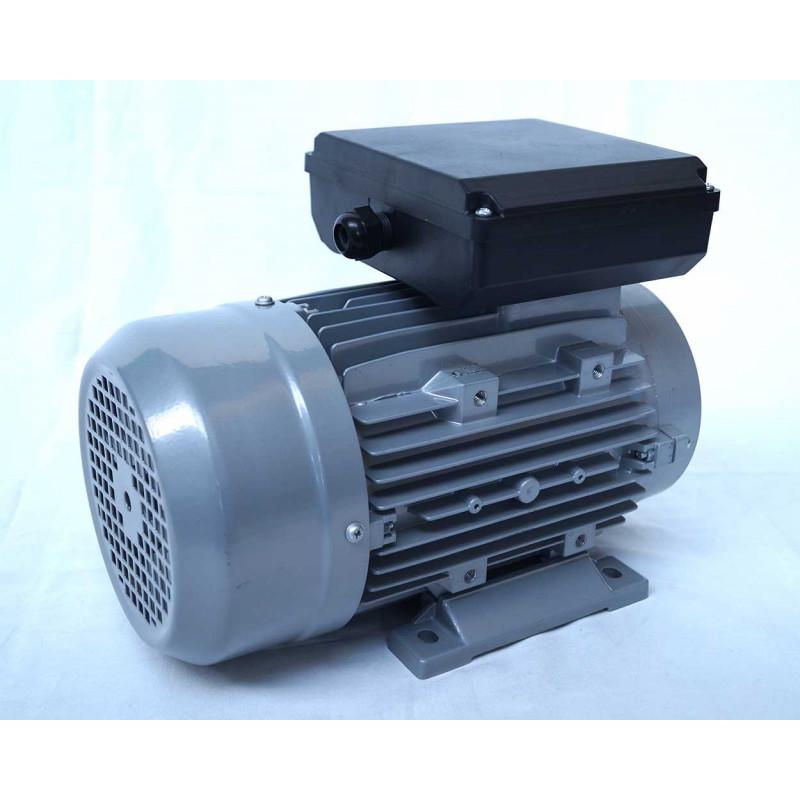 Moteur electrique 220v monophasé 1.5kW, 1500 tr/min, B14