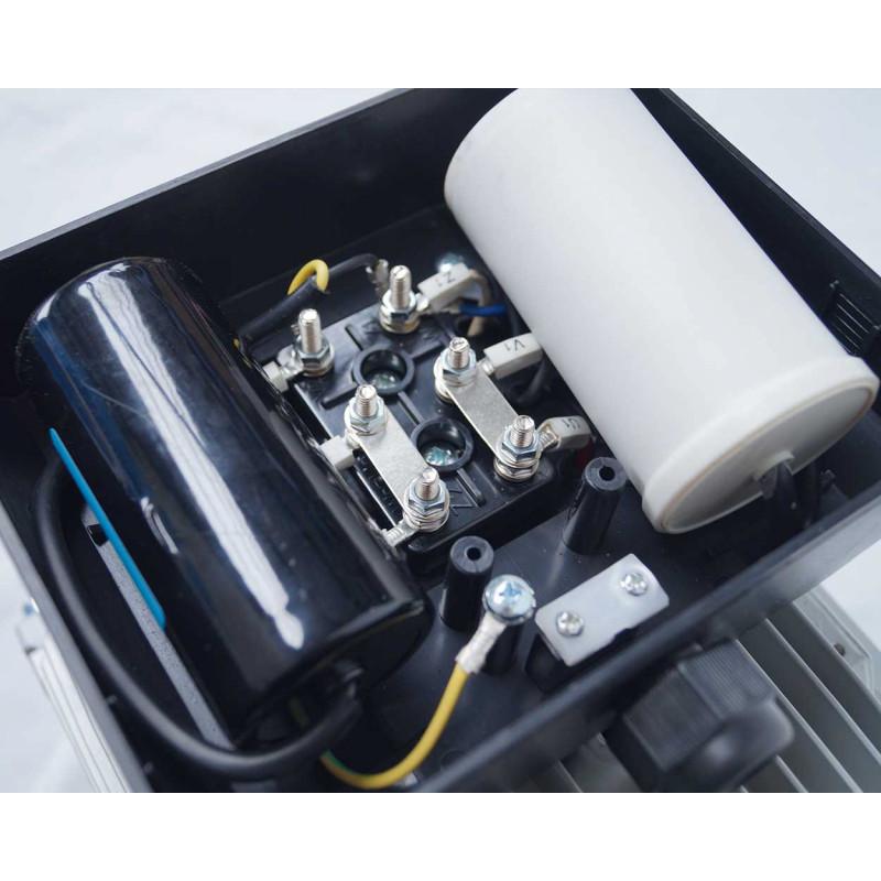 Moteur electrique 220v monophasé 3kW, 1500 tr/min, B14