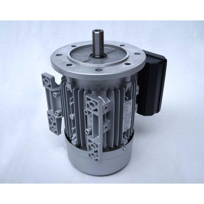 Moteur electrique 220v monophasé 1.1kW, 1500 tr/min, B5