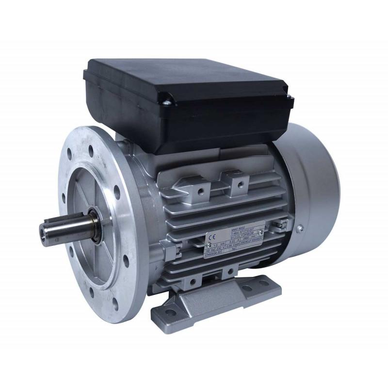 Moteur electrique 220v monophasé 1.5kW, 1500 tr/min, B5