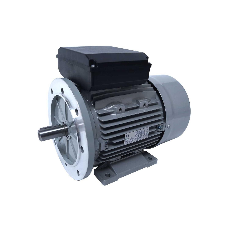 Moteur electrique 220v monophasé 3kW, 1500 tr/min, B5