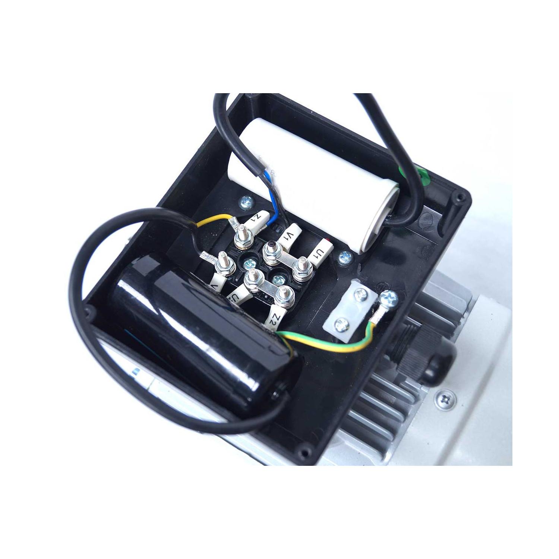 Moteur electrique 220v monophasé 0.37kW, 3000 tr/min, B14