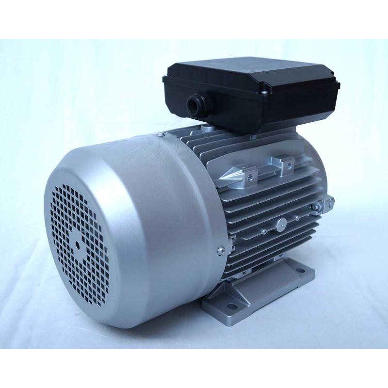 Moteur electrique 220v monophasé 4kW, 3000 tr/min, B14