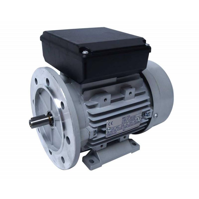 Moteur electrique 220v monophasé 0.55kW, 3000 tr/min, B5