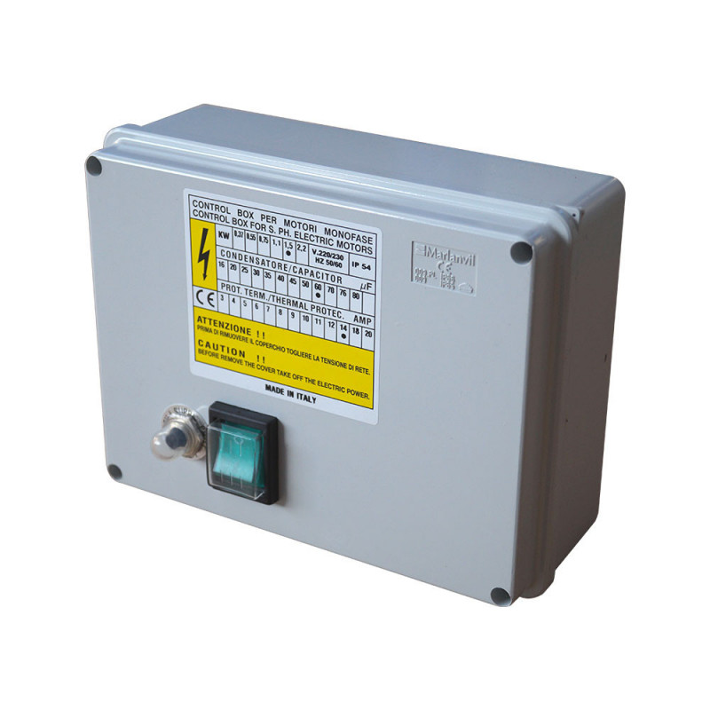 "Pompe immergée monophasée 4"" 1.5kW/2cv - 230V"