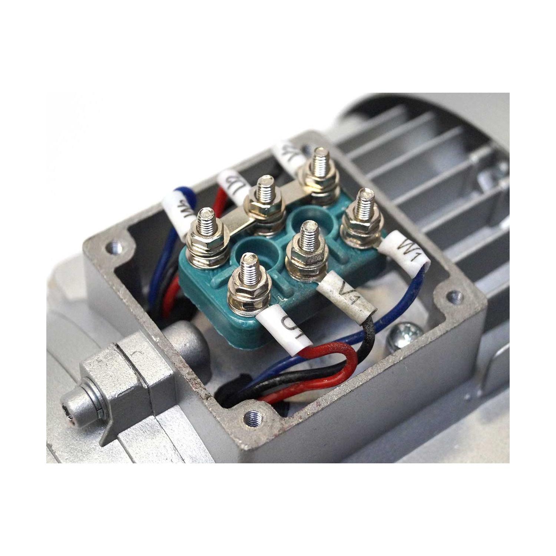 Moteur électrique 230/400V, 0.55Kw, 1000 tr/mn