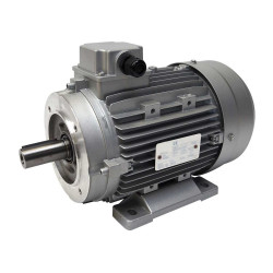 Moteur électrique 400/700V, 5.5Kw, 1500 tr/min -B14