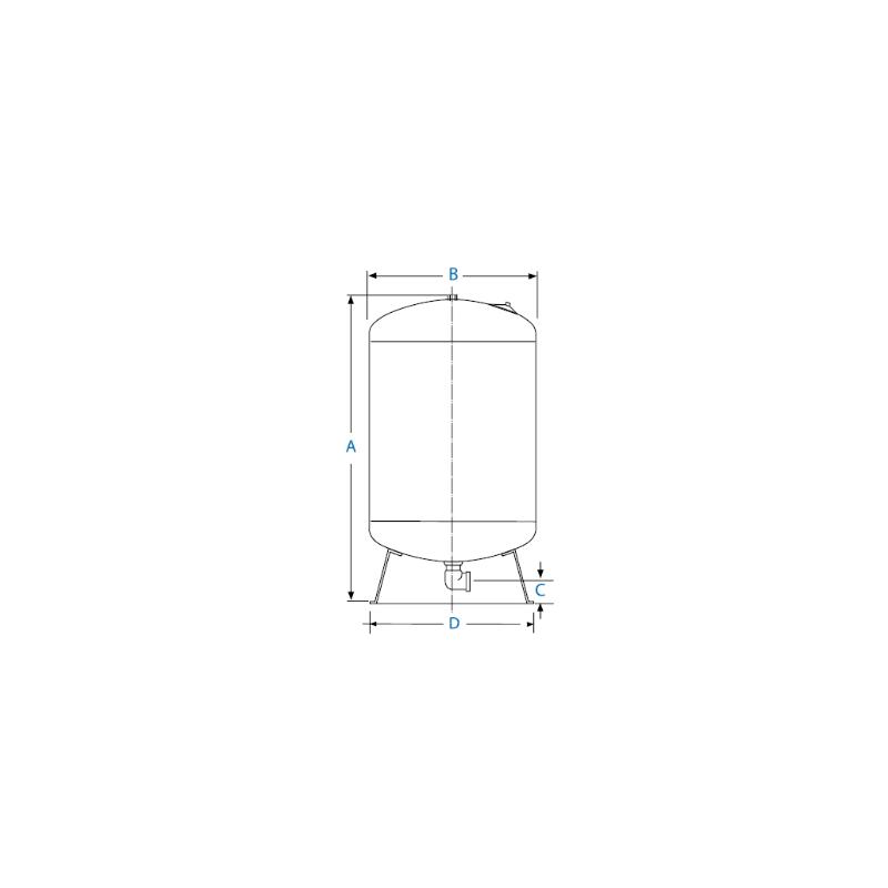 Réservoir a diaphragme GC 310L