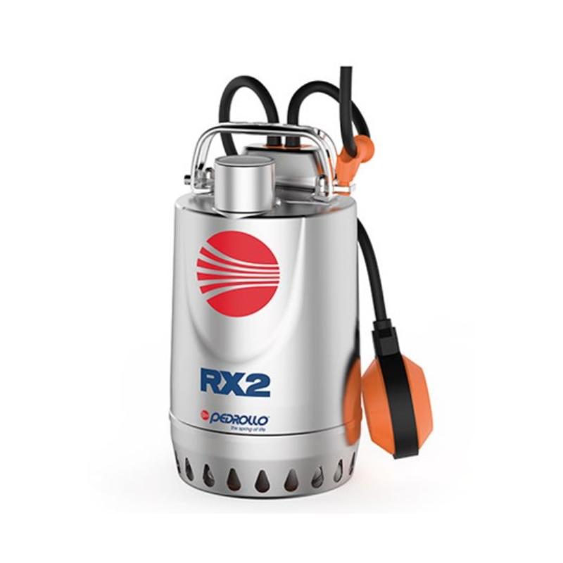 Pompe de relevage eaux pluviales Inox 0.55Kw - 180L/min