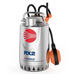 Pompe de relevage eaux pluviales Inox 0.75Kw - 260L/min