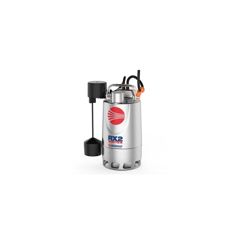 Pompe de relevage eaux pluviales Inox 1.1Kw - 380L/min - Vortex