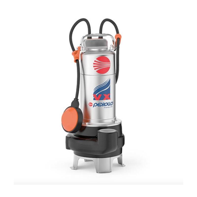 Pompe eau chargée - 0.75Kw - 220V - Vortex