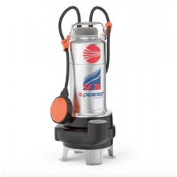 Pompe eau chargée - 0.75Kw - 380V - Bi-canal