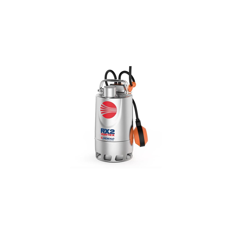 Pompe de relevage eaux pluviales Inox 0.37Kw - 180L/min - Vortex