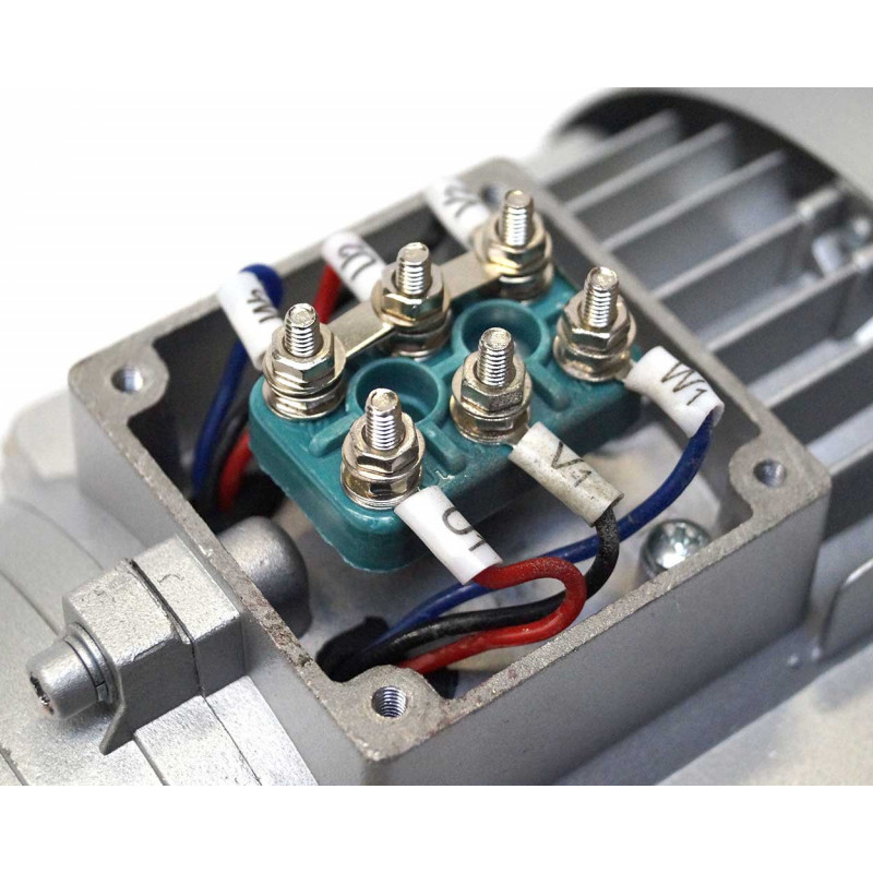 Moteur électrique 230V/400V 1.5Kw, 3000 tr/min, B14